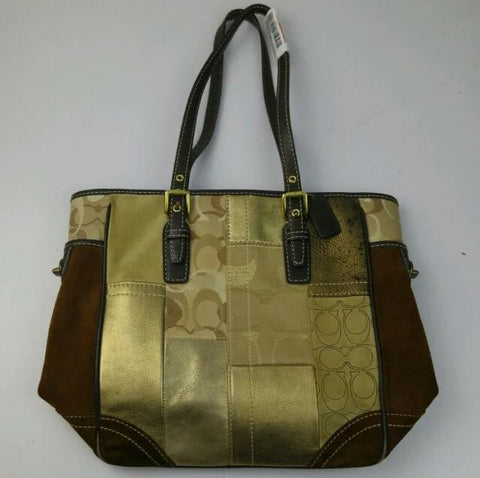 Coach Patch Work Tote Bag