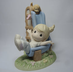ONLY AVAILABLE AT OUR BEDOK OUTLET - PRECIOUS MOMENTS COLLECTOR CLUB FIGURINE