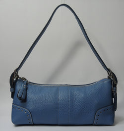 ONLY AVAILABLE AT OUR BEDOK OUTLET - COACH SHOULDER BAG (BLUE)