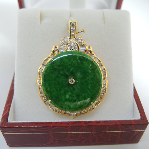 ONLY AVAILABLE AT OUR KALLANG BAHRU OUTLET - JADE PENDANT