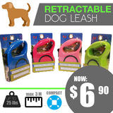 Retractable Dog Leash In Assorted Colour