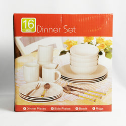 16 Pcs Dinner Set (Selected Stores)