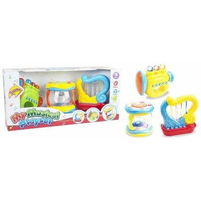 BRAND NEW MUSICAL PLAYSET (18 MONTHS+)