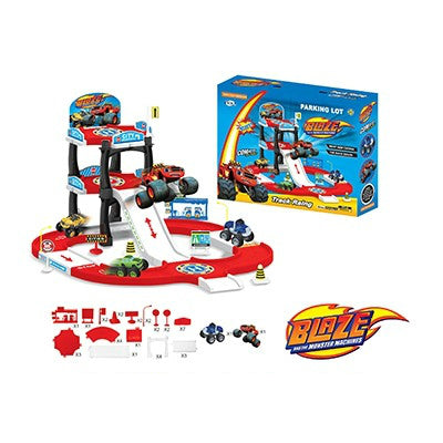 BRAND NEW BLAZE PARKING LOT TRACK RACING SET (SMALL)