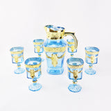 Hari Raya - Jug with 6 Square Glasses