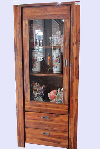 NEW ARRIVAL: LARGE WOODEN DISPLAY CABINET - (Kallang Bahru)