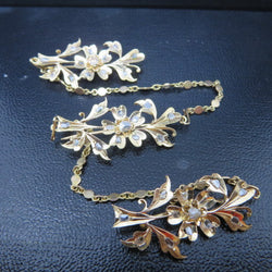 ONLY AVAILABLE AT OUR CHINATOWN OUTLET - Vintage diamond brooch(kerongsan)