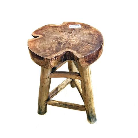 SOLID WOOD STOOL (Kallang Bahru)