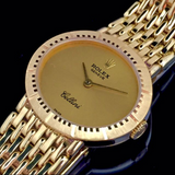 ONLY AVAILABLE OFFLINE - Rolex Cellini Ladies Watch in 18K Yellow Gold