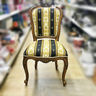 UPHOLSTERED TEAKWOOD CHAIR - (Kallang Bahru)