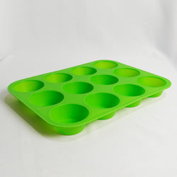 Silicon Baking Mould - 12 Holes (Selected Stores)