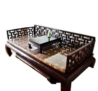 WOODEN IMPERIAL DAY BED - (Kallang Bahru)