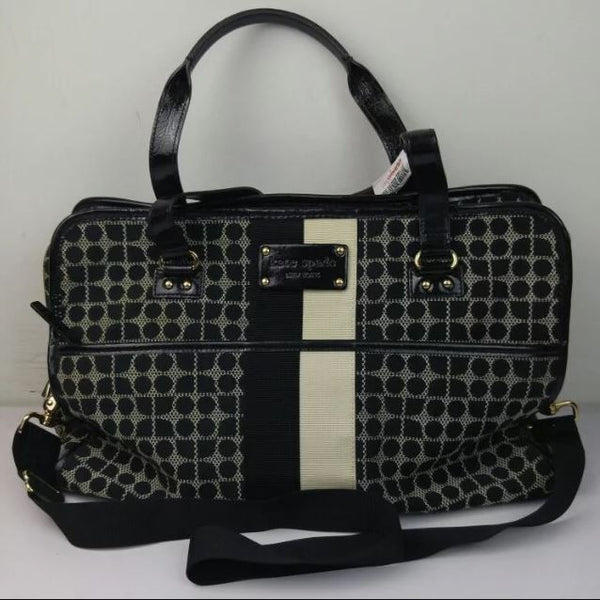 Kate Spade Monogram Tote bag Black