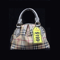 Burberry Checked Handbag - (Kallang Bahru)