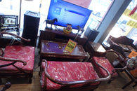 Rosewood Living Room Set with Mother of Pearls Inlay - (Kallang Bahru)