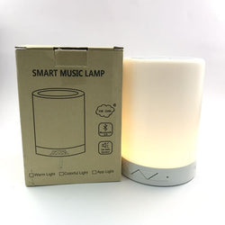 SMART LED LAMP WITH BLUETOOTH SPEAKER