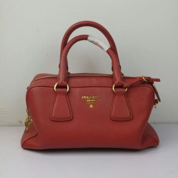Prada Red Handbag