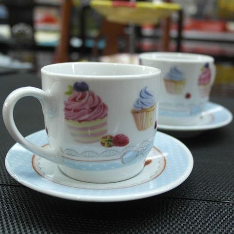 COFFEE/TEA CUP WITH SAUCER