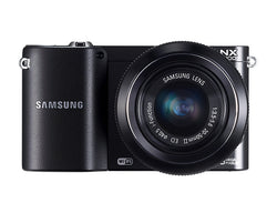 SAMSUNG NX1000 20.3 Megapixel Mirrorless Camera (Body with Lens Kit) - 20 mm - 50 mm