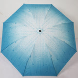 Online - Raindrop print Umbrella in Assorted Colours