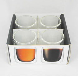 Online - Varello Glasses with Double Wall - Set Of 4