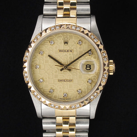 Copy of Men Rolex 16233 with Diamonds (Toa Payoh)