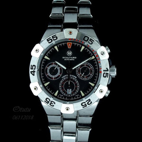 Scalfaro Men Automatic Chronograph Watch  (Toa Payoh)