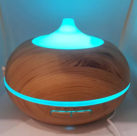 Wooden Humidifier Ultrasonic Aroma Diffuser 300ml Victsing