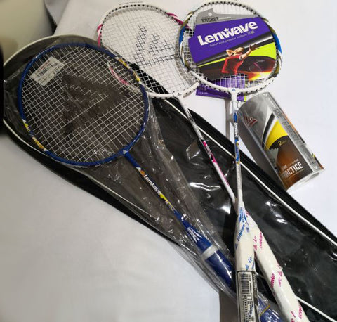 Badminton Rackets (Set of 3)