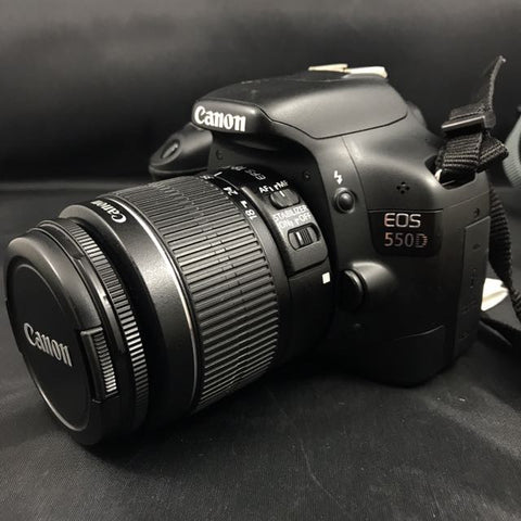 CANON 550D DSLR CAMERA