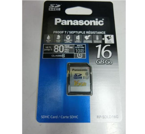 ONLY AVAILABLE OFFLINE - Panasonic 16MB SD card