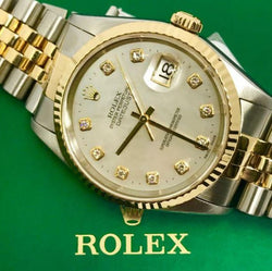 ONLY AVAILABLE OFFLINE - Rolex 16233 Oyster Perpetuai Collection Men's Watch