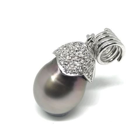 750 White Gold South Sea Pearl Pendant
