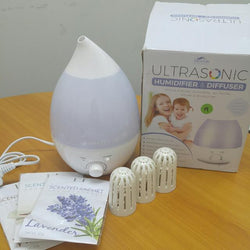 Ultrasonic Humidifier And Diffuser Aromatherapy (Available on Cash Converters online)