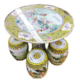 CLEARANCE SALE!! ROUND PORCELAIN DINING SET - (Kallang Bahru)