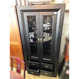 SALE: Wooden Black Display Cabinet - (Kallang Bahru)