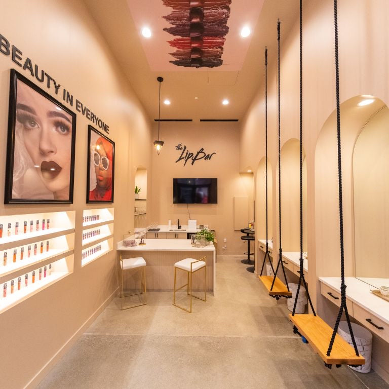 The Lip bar flagship store