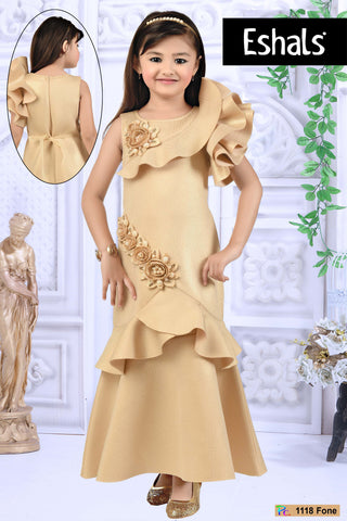 Eshals Beige Party Wear -  1118 F
