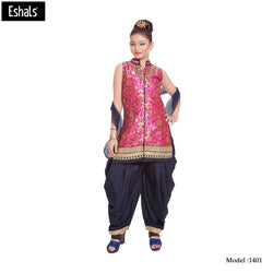 Eshals Girls Patiala Suit-1401