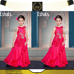 Eshals Stylized Pink Gown - 2238