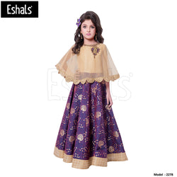 Eshals Stylish Long Gown Partywear -2278
