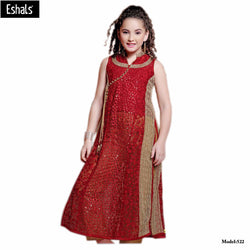 Eshals Stylish Anarkali Suit For Girls - 522