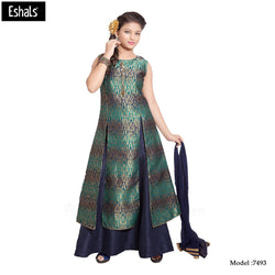 Eshals Lovely Designer Plazo Suit - 7493
