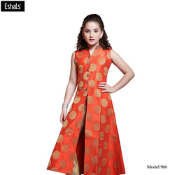 Eshals Off Orange Kurta - 966