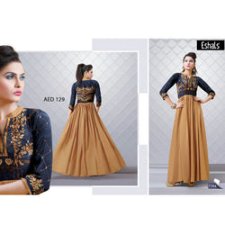 Eshals Ladies Long Gown -7164