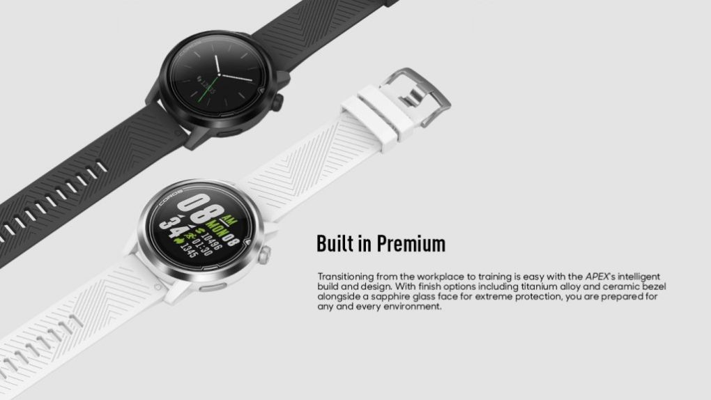 COROS APEX 46mm Premium GPS Watch
