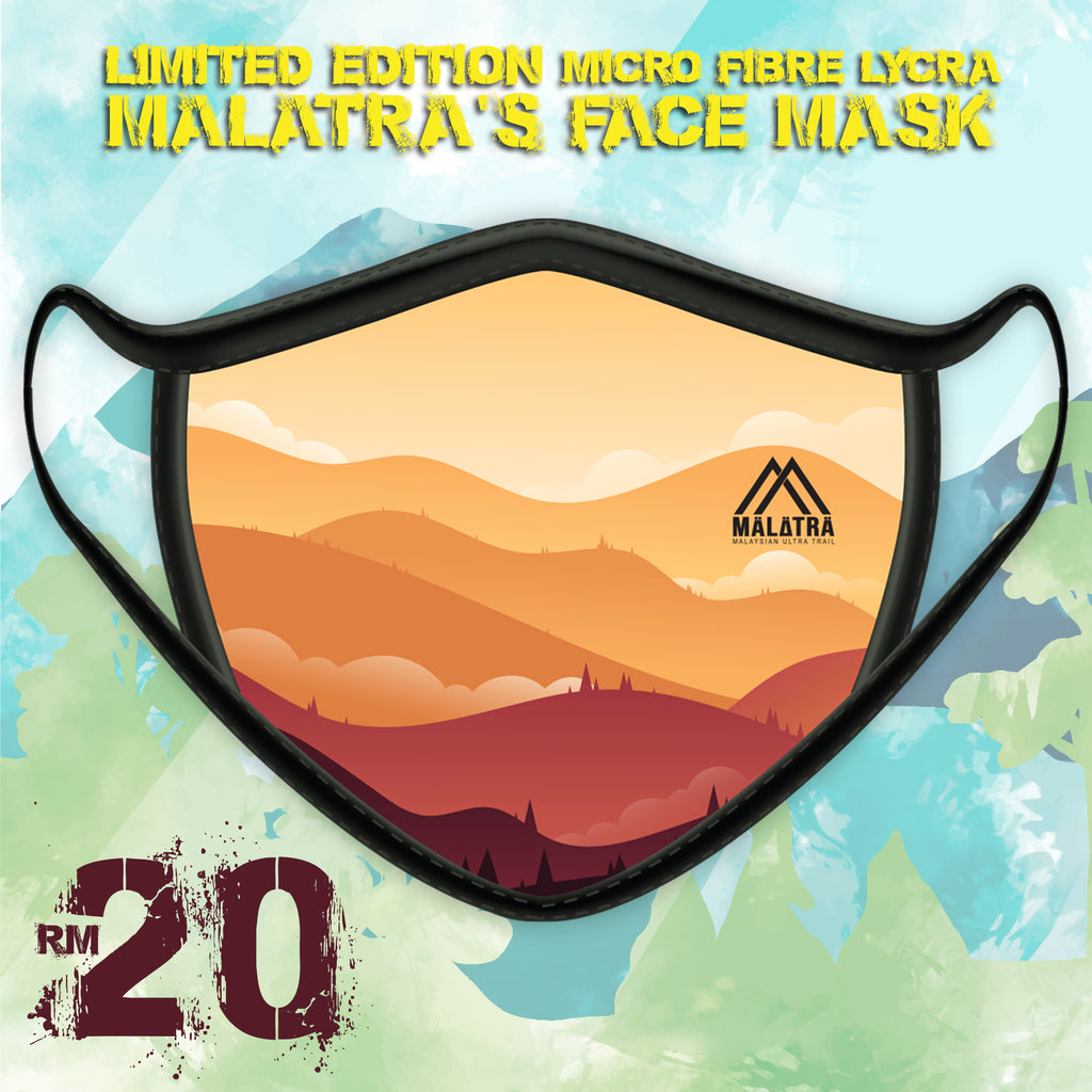 Two Layers Face Mask (with filter pocket) – Malatra Mountain Design