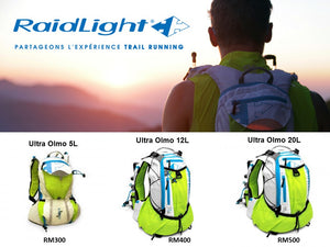 RAIDLIGHT OLMO 12L ULTRA VEST (WITHOUT BOTTLES)