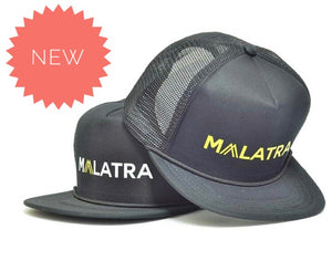 OFFICIAL MALATRA TRUCKER CAP Type B (Yellow)