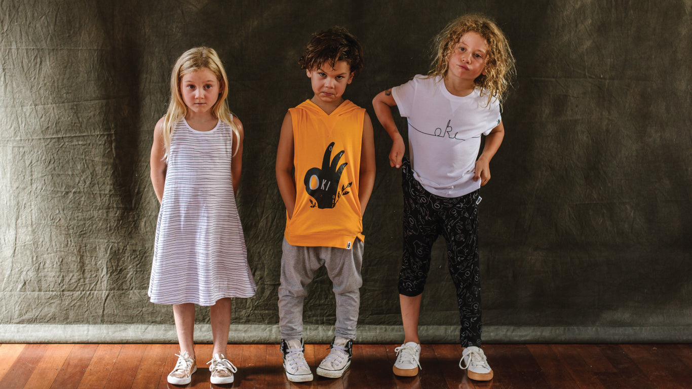 organic kids pants oki for all
